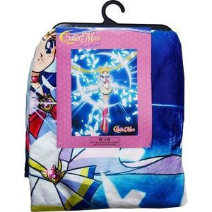 Sailor Moon Throw Blanket 🌙💕✨